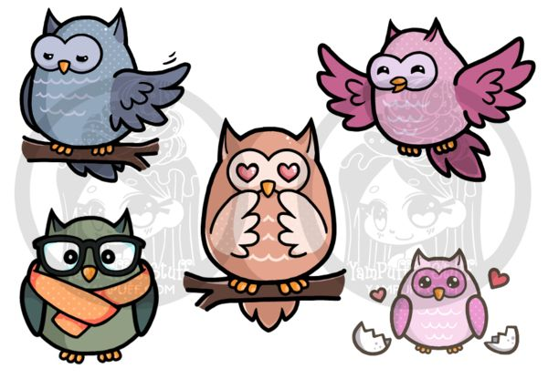 I wanted to add owls to my Zazzle and Redbubble portfolios so I started sketching owls at work. I finally came up with a design I liked (basically a fat egg shape) and then I went owl crazy!