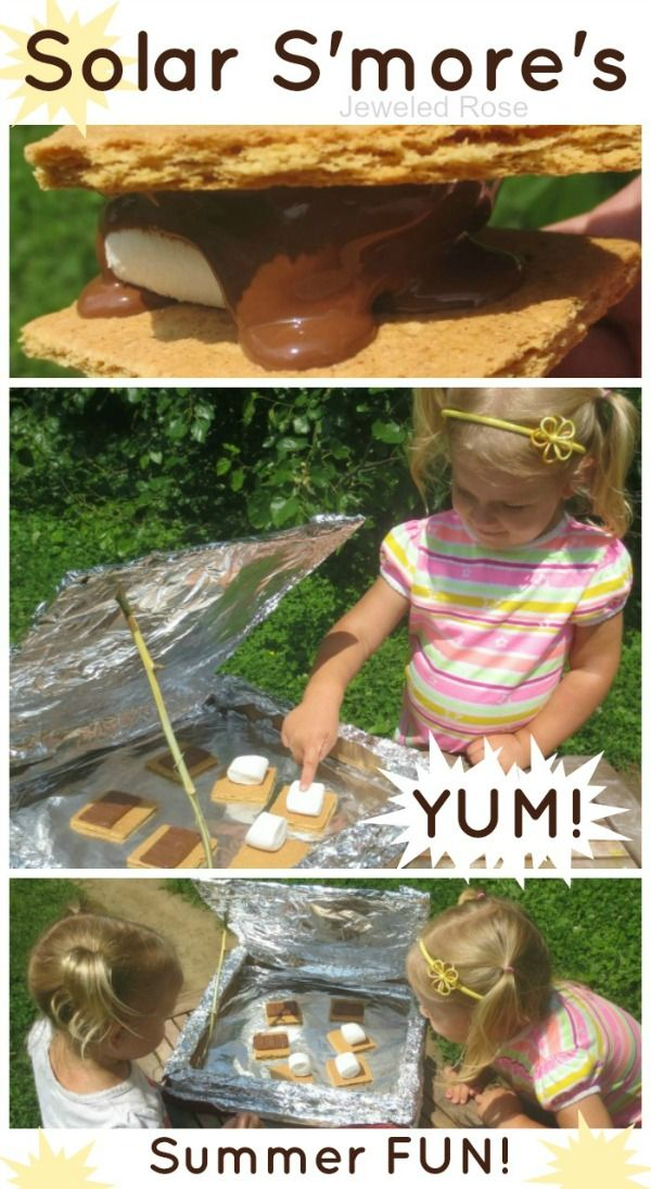Marshmallow fun!  - combine w/ building a marshmallow shooter, solar oven s'mores, and toothpick/ marshmallow sculptures.