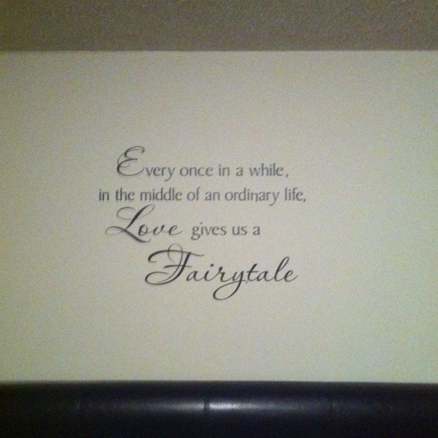 Wall decal for bedroom!