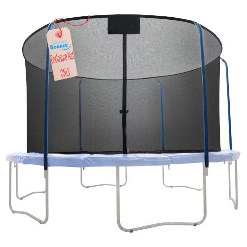Upper Bounce Replacement Trampoline Safety Net, Black