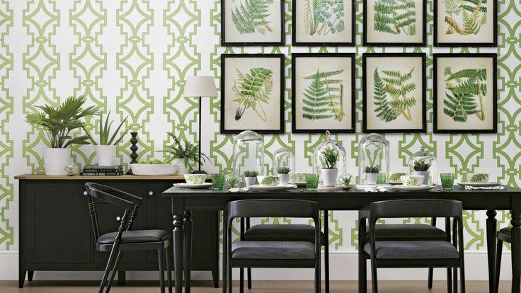 Choose A Bold Geometric Print Just Like This Green