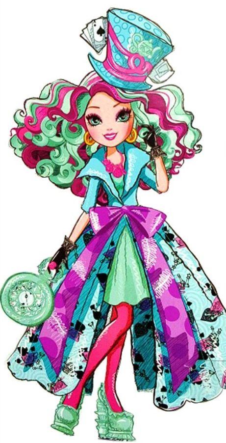 Ever After High Way Too Wonderland Madeline Hatter Dress ...