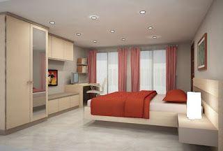 Kamar Tidur Dengan Cover Bed Minimalis