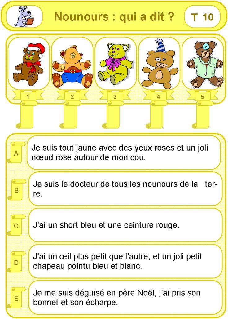 IPOTÂME ....TÂME: CP activité lecture de phrases