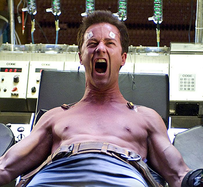"Edward Norton en ""El Increíble Hulk"" (The Incredible Hulk), 2008"
