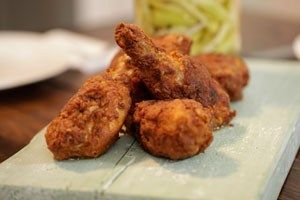 Gordon Ramsay's: Buttermilk-fried Chicken