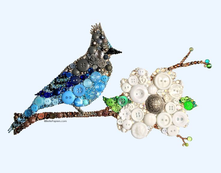Джей #buttons Кнопку, Искусство Steller #button #art #swarovski www.BellePapiers.com