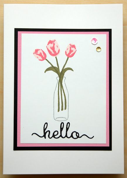 Created using Clearly Besotted With Love stamps and Hello Die from Clearly Besotted.