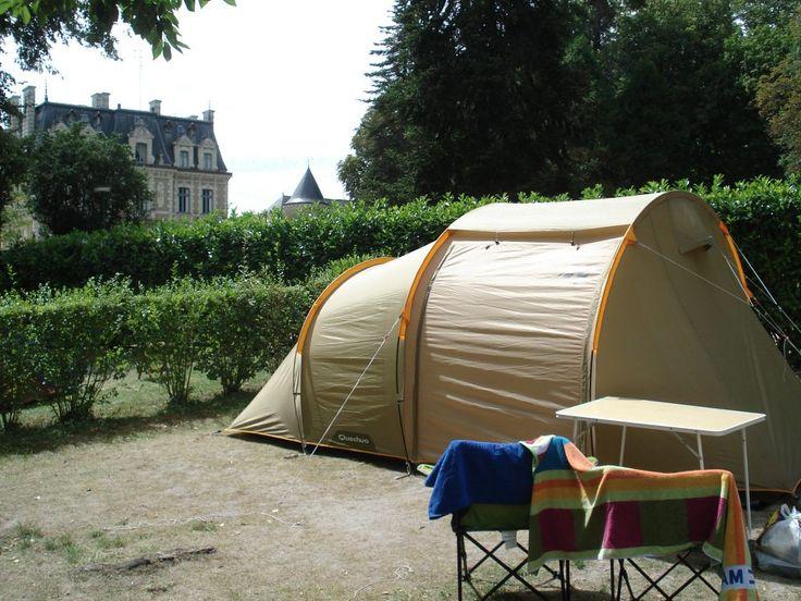 Camping Château de la Rolandière, Trogues