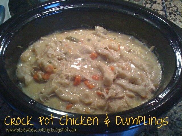 Tastefully Done: Crock Pot Chicken & DumplingsChicken Breasts, Recipe, Chicken Soups, Food, Crock Pot Chicken, Crock Pots Chicken, Crockpot Chicken, Chicken Dumplings, Chicken And Dumplings