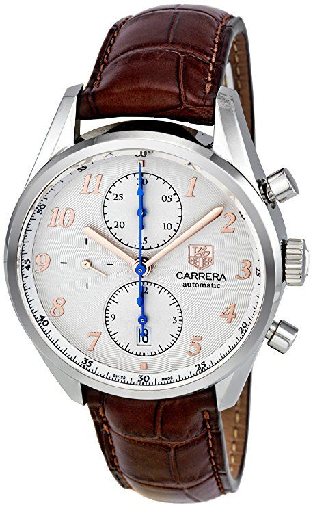 575c8512ab2 Tag Heuer Men's CAS2112.FC6291 Carrera Heritage Silver Dial Dress Watch # mens #watch