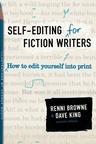Self-Editing for Fiction Writers, book review. http://www.sulisinc.com/sulisblog/2014/8/25/self-editing-for-fiction-writers