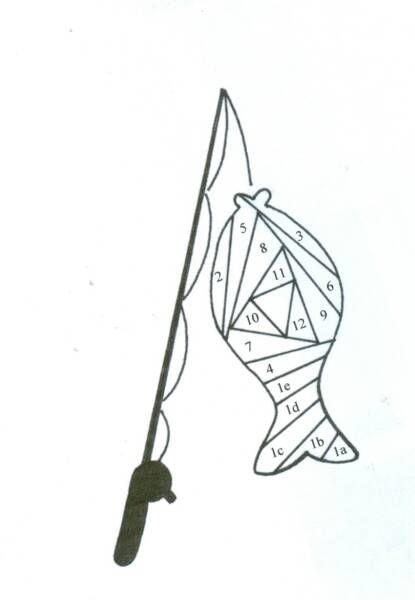 Going Fishing - Paper Iris Folding