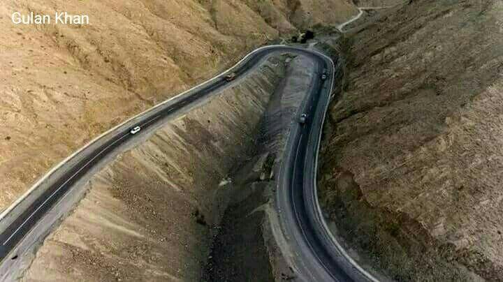 Marvelous view of Kalat Quetta Chaman road beauty of Balochistan Pakistan