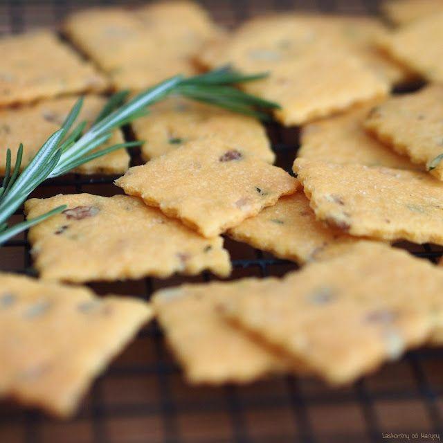 Laskominy od Maryny: Cheddarové crackery