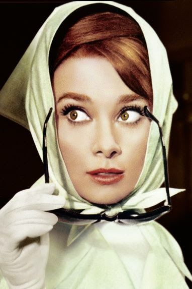 Audrey Hepburn en *Con B de Boda* http://conbdeboda.blogspot.com.es