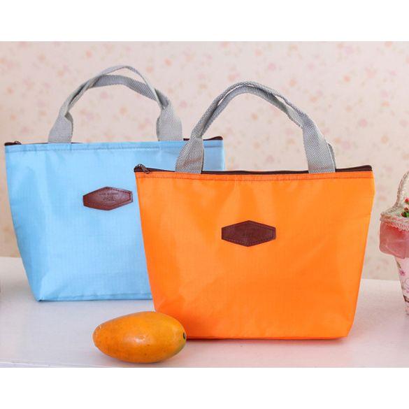 Picnic Lunch Box Bag Dining Travel Purse Zipper Handbag Cooler 1STL