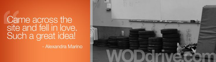 Free CrossFit Workout Database and WOD Generator | WODdrive.com