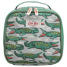 Buy Cath Kidston Crocodile Lunch Bag, Grey/Green Online at johnlewis.com