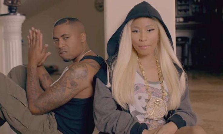 Nicki Minaj plays coy about Nas dating rumors, vows to stay celibate for a year: #nickiminaj