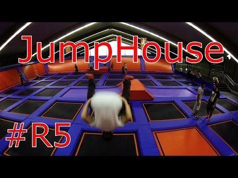 JUMP HOUSE Hamburg - Trampolin Tricks 2014 - YouTube