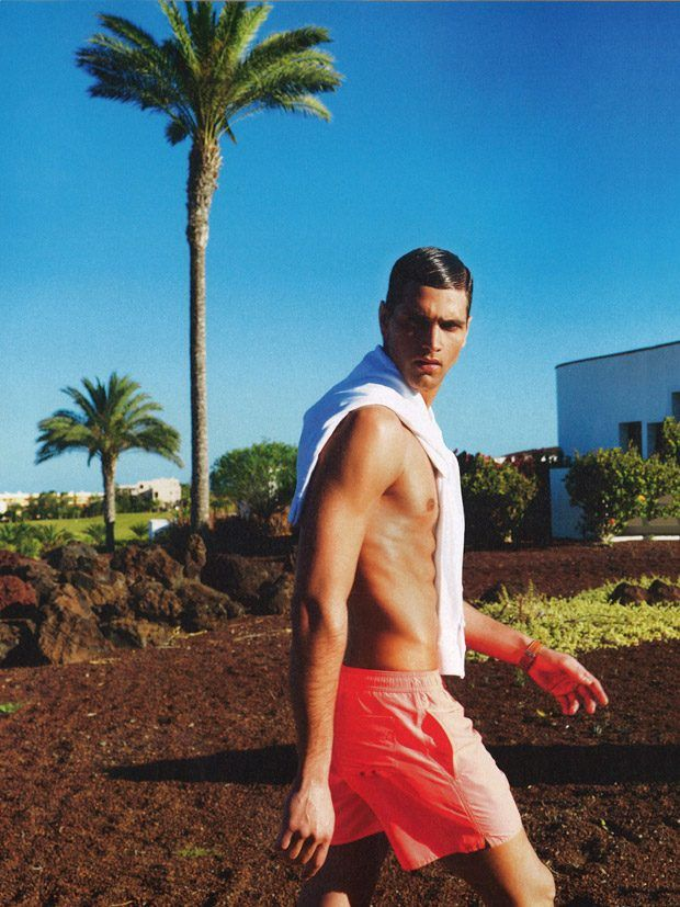 Fabio Mancini for Icon Magazine by Sergi Jasanada