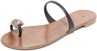 Giuseppe Zanotti Toe Ring Sandals - $595.00