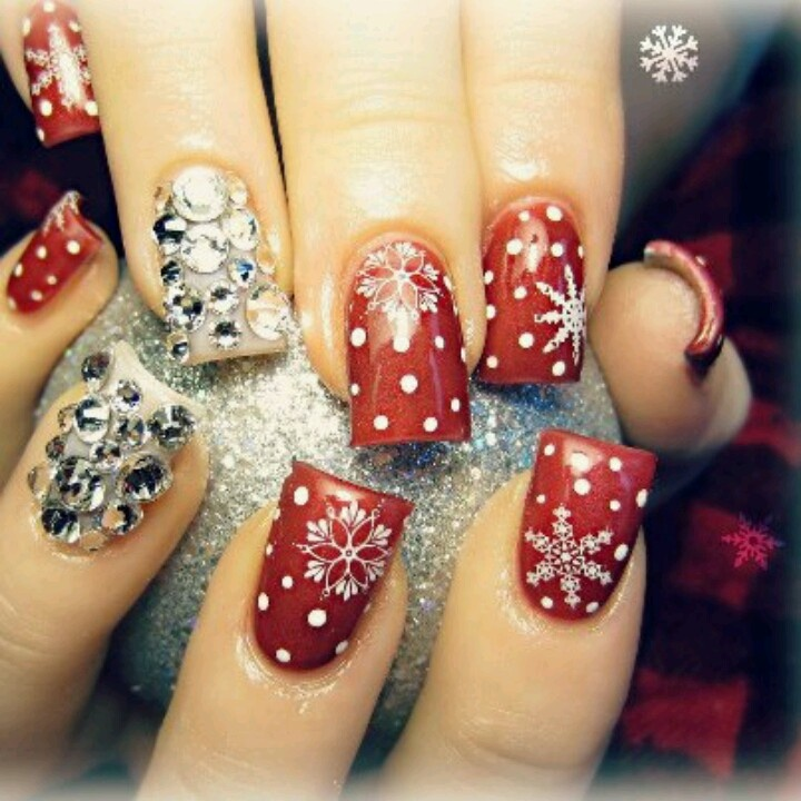 Christmas Nail Art Designs Gallery: 25+ Best Ideas About Christmas Nail Designs On Pinterest