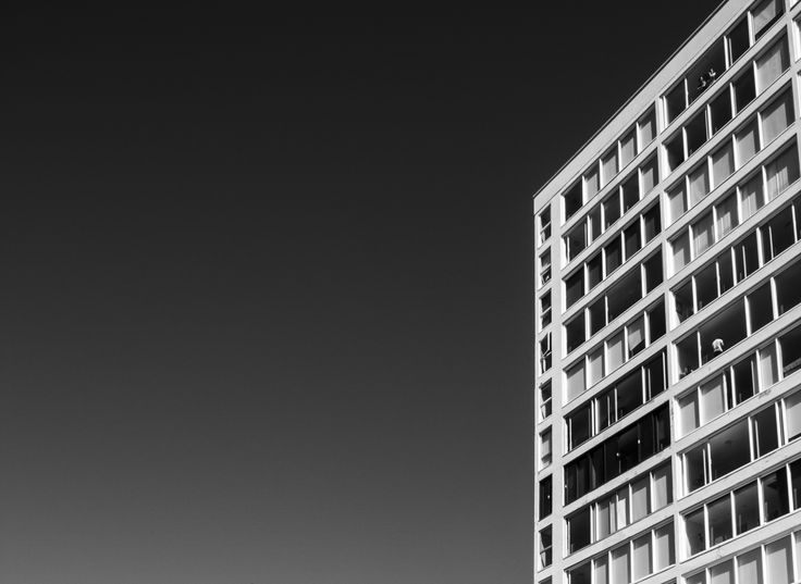 1960s #modernist #apartment #architecture - 11mm prime, f14, 1/100