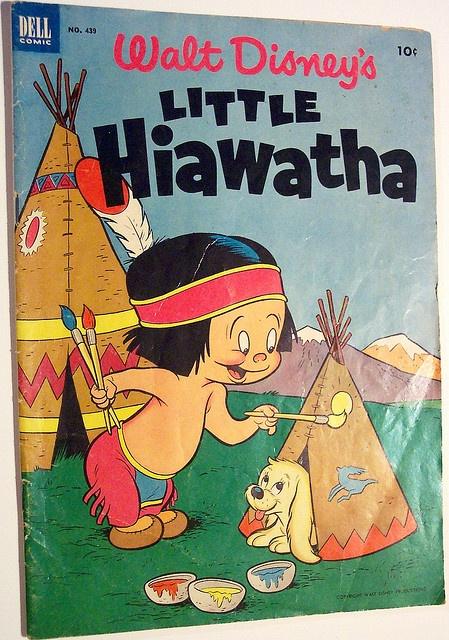 Vintage Comic Book - Four Color #439 Little Hiawatha by riptheskull, via Flickr