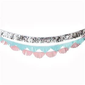 The 25 best kmart party products images on pinterest party shop pastel fringed garland stopboris Choice Image