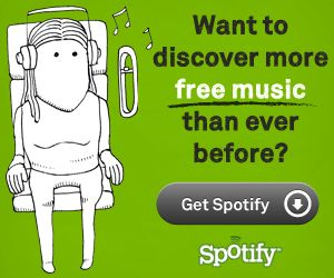 spotify- free music site where you can listen to music and search the specific songs you want.  She says it is the best music site ever.