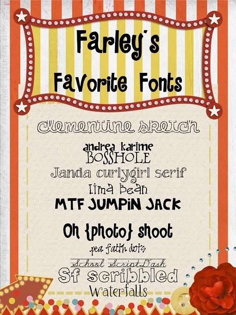 oh' boy 4th grade fonts