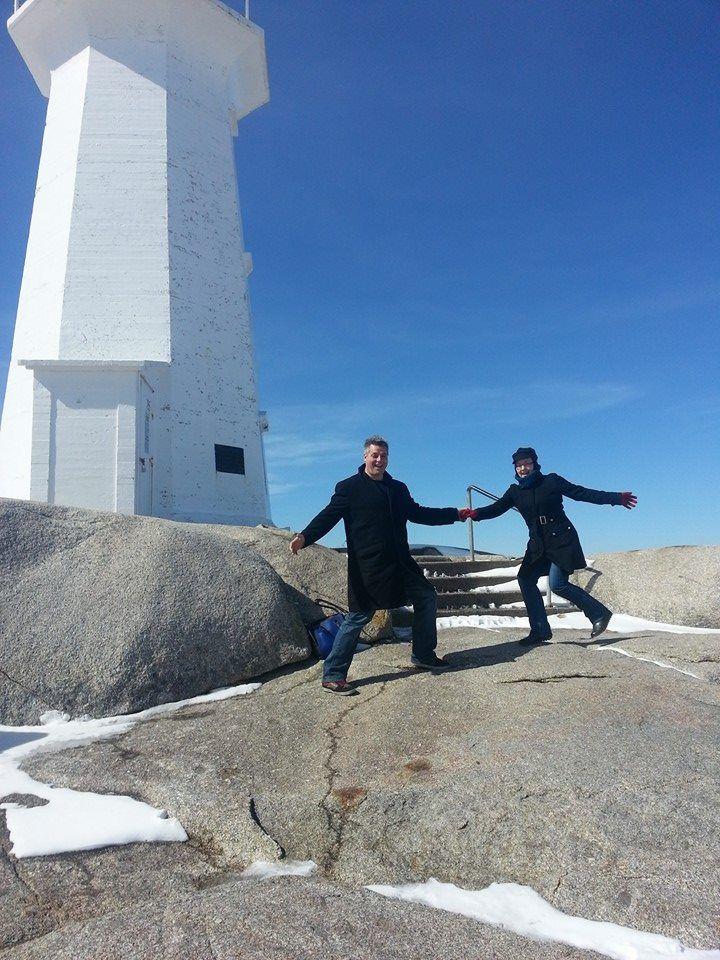 Peggy's Cove, Nova Scotia, March 2014.