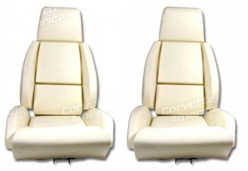 1984-1988 C4 Corvette Standard Seat Foam 4 Piece Kit Installing fresh seat foam in your C4 Corvette will make your car seats feel like new. You should definitely replace the seat foam if you are installing new seat covers. Our reproduction C4 Corvette seat foam is correctly formed and includes pre-installed wire supports where applicable.