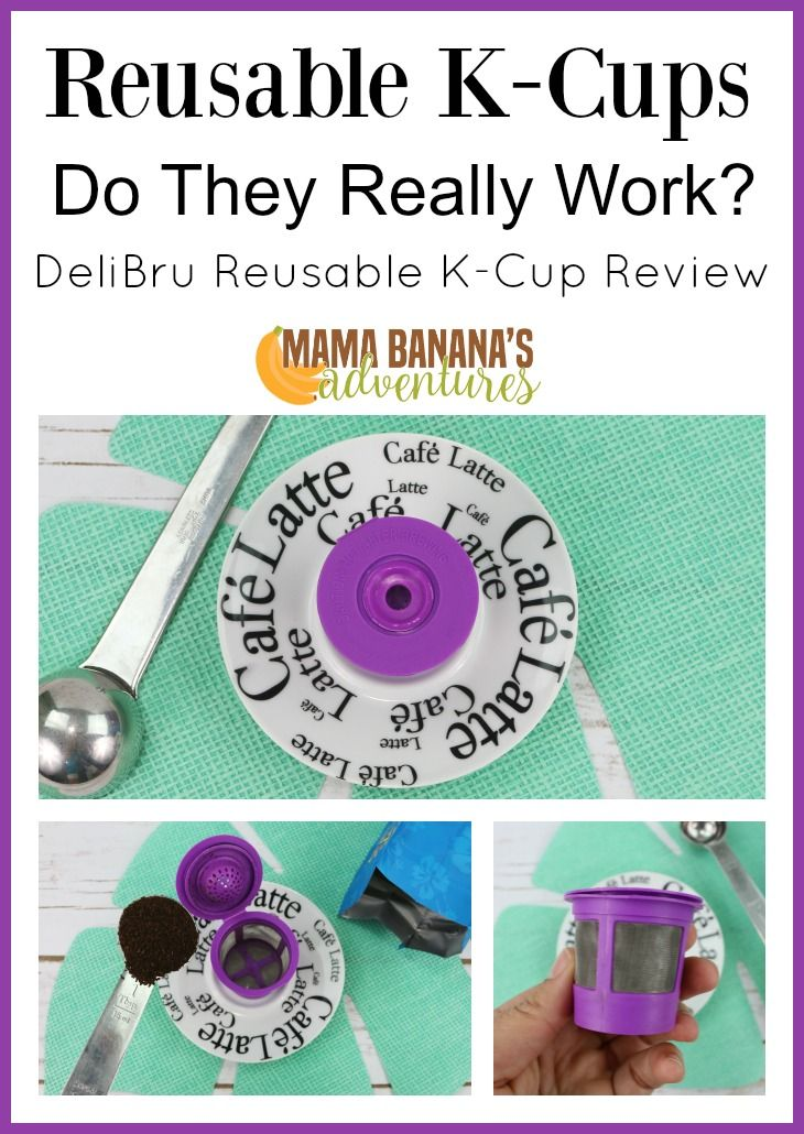 DeliBru Reusable K Cup Review Reusable K Cups are vital to our continued use of