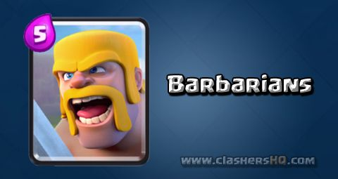 Find out all about the Clash Royale Barbarians Card. How to get Barbarians & attack/counter Barbarians effectively.