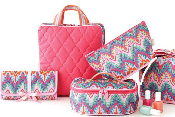 Slam Glam - Cinda B Calypso Train Case II, $67.00 (http://www.slamglam.com/cinda-b-calypso-train-case-ii/) Fabulous Cinda B travel accessories for your sweetheart this Valentine's Day! #cindabaccessories #cindab #traincases