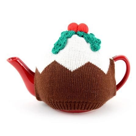 christmas pudding tea cosy and red teapot dunelm. Black Bedroom Furniture Sets. Home Design Ideas