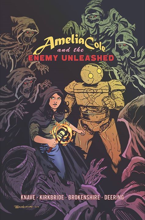 """""""Amelia Cole and the Enemy Unleashed"""" IDW Publishing"""