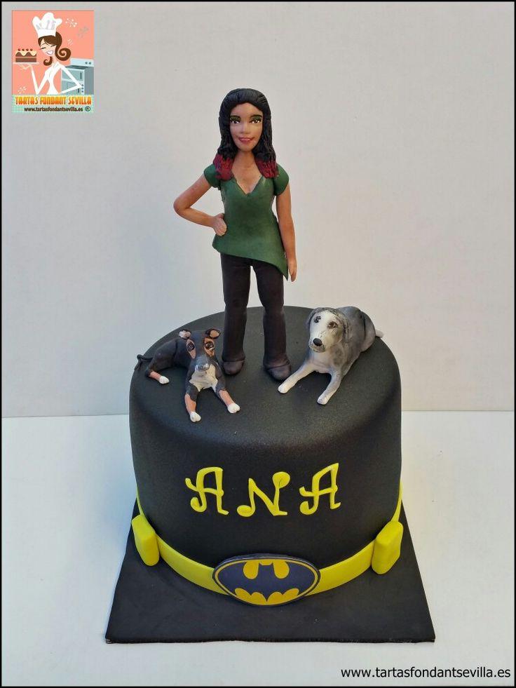 Tarta personalizada para Ana