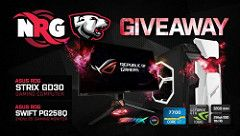 Win ASUS ROG GD30 Gaming PC and Swift PG258Q Monitor Giveaway September 2017