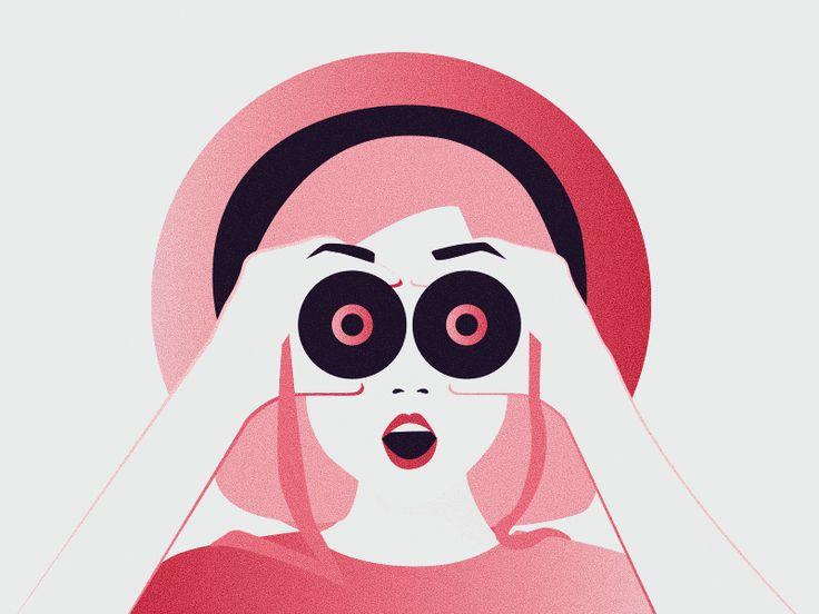 I SEE!!! Illustration Ana Hoxha