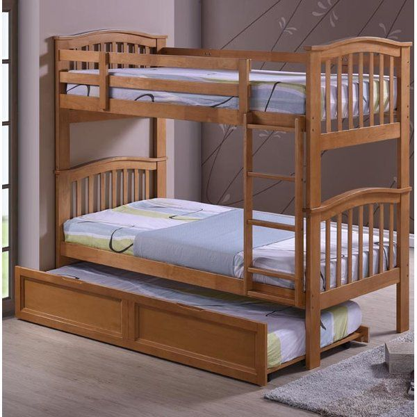Harmony Beds & Furniture Lydia Single Bunk Bed & Reviews | Wayfair.co.uk