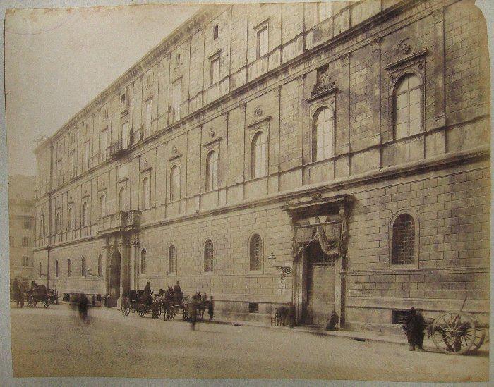 (ROMA - Palazzo della Cancelleria) 1880