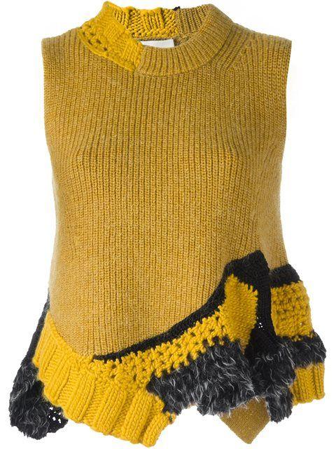 3.1 Phillip Lim hand-crocheted tank top