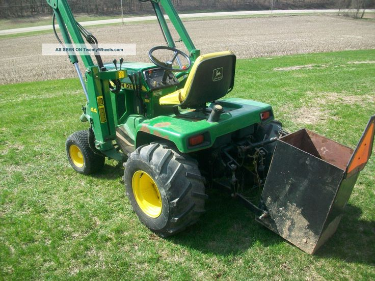how to put hydraulics on a lawn tractor