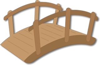Free SVG File – Sure Cuts A Lot – 10.30.11 – Garden Footbridge