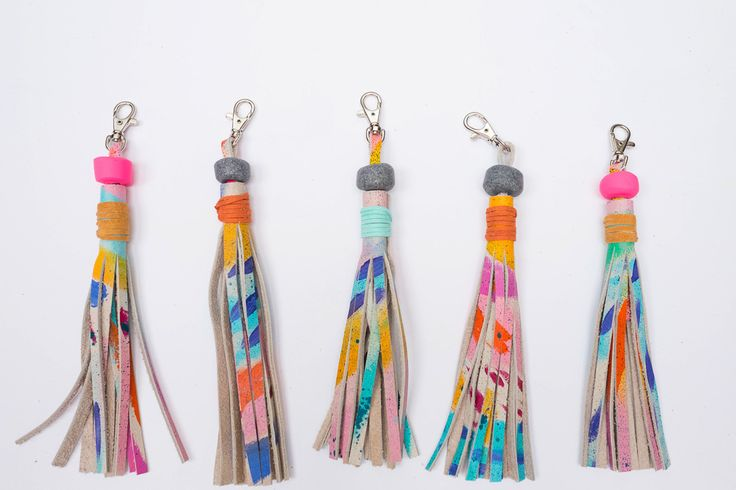 5 Atlanta Movers, Shakers, and Makers You Should Know About | Rainbow Tassel Keychain | FATHOM