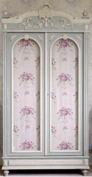 Шкафы в стиле шебби шик - Декор своими руками